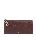 ROMANCE W1 RF WOMENS WALLET OSTRICH EMBOSSED,  brown
