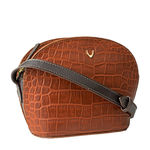Goldie 02 Handbag,  tan, croco