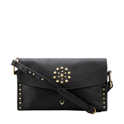 HIDESIGN X KALKI WITCH 02 SLING BAG IDAHO SPLIT,  black