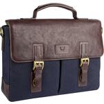 Bedouin 01 Briefcase,  navy blue