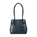 Shanghai 03 Sb Women s Handbag Snake,  midnight blue