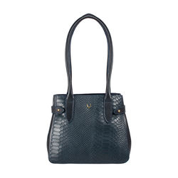 Shanghai 03 Sb Women's Handbag Snake,  midnight blue