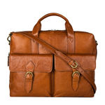 Indigo 02 E. I Briefcase,  tan