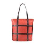 FREEDOM 02 WOMEN S SHOULDER BAG, WAXED SPLIT REGULAR,  rust