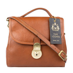 Marina Women's Handbag, Soweto,  tan