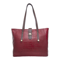 EE ATRIA 01 WOMEN'S HANDBAG CROCO,  red