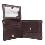 264-010F Men s wallet,  brown, camel