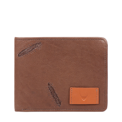 366-017 RF MENS WALLET COW BOY,  brown