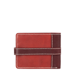308 017[ Rfid] Sb Men s Wallet, Waxed Split,  marsala