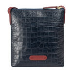 Saturn 02 Sb Women s Handbag Croco,  midnight blue