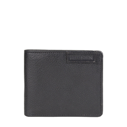 EE URANUS W4 RF MENS WALLET REGULAR PRINTED,  black
