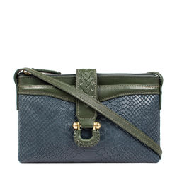 SB FRIEDA W4 WOMEN'S WALLET SNAKE,  midnight blue