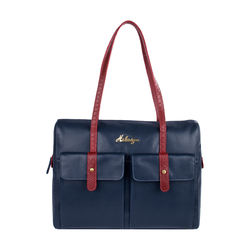 London 01 Sb Women's Handbag, Melbourne Ranch Snake,  midnight blue