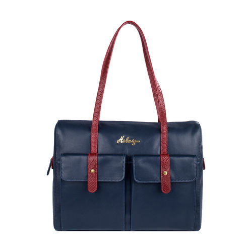 London 01 Sb Women s Handbag, Melbourne Ranch Snake,  midnight blue