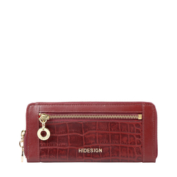AFFAIR W1 RF WOMENS WALLET CROCO,  marsala