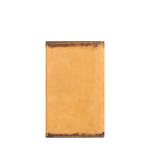 296-031F RF PASSPORT HOLDER CAMEL,  tan