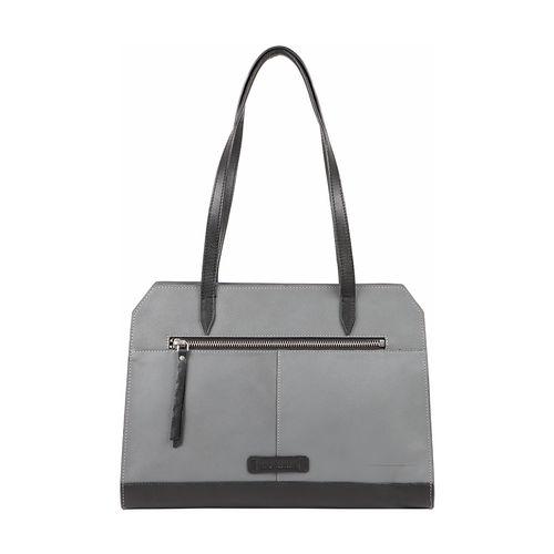 HIDESIGN X KALKI EDGE 01 WOMEN S SHOULDER BAG SOHO,  grey