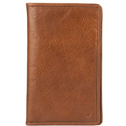 267-031F Passport holder,  tan, khyber