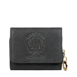 METAL W4 RF WOMENS WALLET KALAHARI,  black