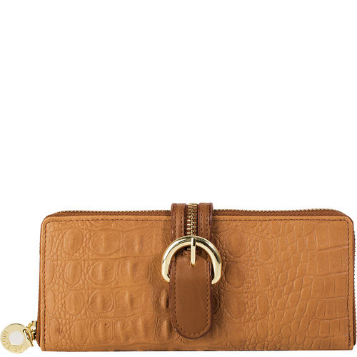 Harajuku W2 Women s Wallet, Baby Croco Ranch,  tan, baby croco