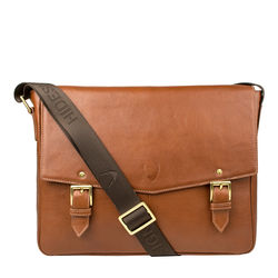 DOUGLAS 02 MESSENGER BAG REGULAR SPLIT,  tan