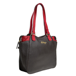 Sb Olivia 02 Women s Handbag, Pebble Snake Brown Red,  brown