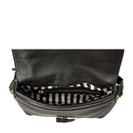 Sevruga Handbag, deer,  black