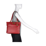 Lucia 02 Women s Handbag, Andora,  red