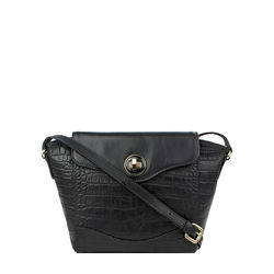 SB GISELE 02, croco,  black