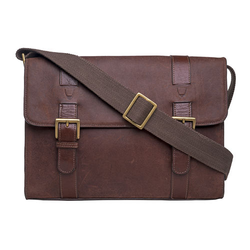 EE GARNET 02 MESSENGER BAG CAMEL,  brown