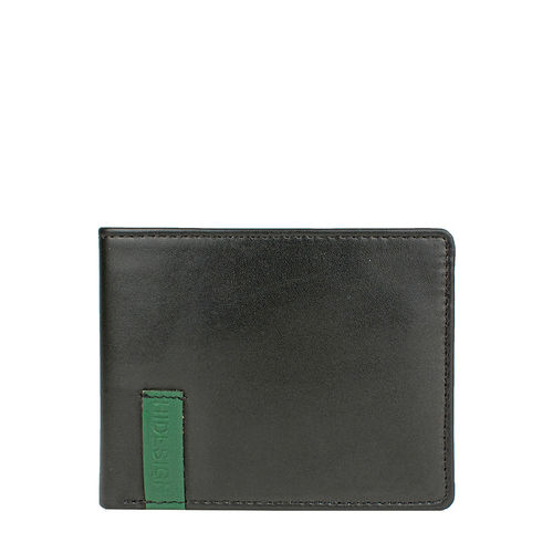 Dw007 Men s wallet,  black, ranch