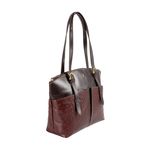 Virgo 01 Sb Women s Handbag Ostrich,  brown