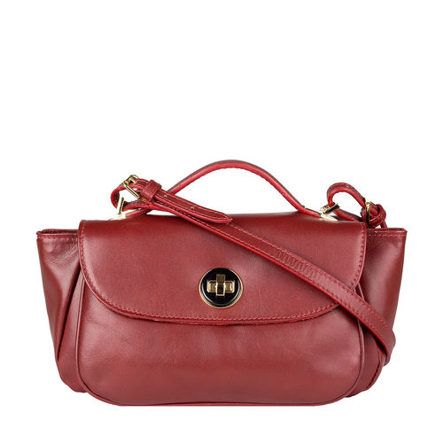 Vitello 01 Handbag,  red