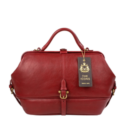 Julie Women's Handbag, Ranchero,  dark red