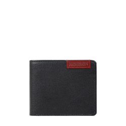 Uranus W4 Sb(Rf) Men's Wallet Manhattan,  black