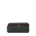 Virgo W3 (Rfid) Women s Wallet Snake,  green