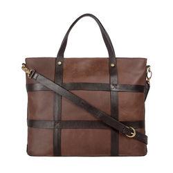 HIDESIGN X KALKI Freedom 01 Women's Handbag, Waxed Split Regular,  tan