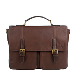 Merlin 02 Briefcase,  brown, siberia