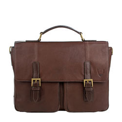 Merlin 02 Briefcase, siberia,  brown