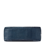 Virgo 01 Sb Women s Handbag, Snake Melbourne Ranch,  midnight blue