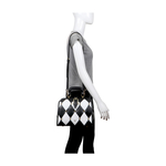 FLAPPER GIRL 02 WOMEN S HANDBAG LAMB,  black