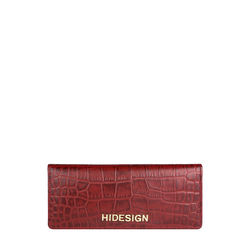 Carly W2 (Rfid) Women's Wallet, Croco Melbourne,  red