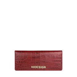 CARLY W2 (RFID) -CROCO MELBOURNE-RED,  red