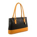 Marty 01 Women s Handbag, Cow Woven,  black