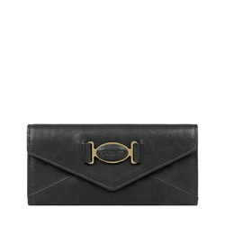 METAL W2 RF WOMENS WALLET KALAHARI,  black