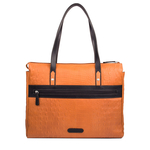 Rizzo 02 Women s Handbag, Baby Croco Melbourne Ranch,  pumpkin