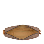 NAUSAR 01 MESSENGER BAG CANVAS,  desert palm