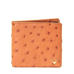 Baku Men's wallet, ostrich,  tan