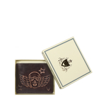385-L107 RF MENS WALLET E. I,  brown