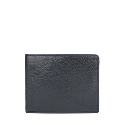 L104(Rf) Men's Wallet Regular,  black
